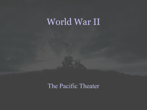 Pacific theater powerpoint