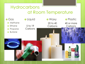 Physical Properties of Hydrocarbons