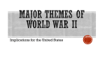 Major Themes of World War II