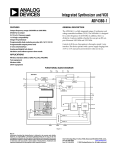 ADF4360-1 Integrated Synthesizer and VCO Data Sheet (REV. 0)