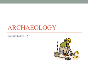 Archaeology - WordPress.com