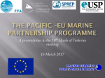 Fisheries and the EDF 11 Regional Programme