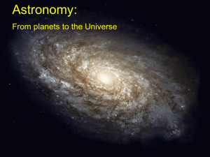 PowerPoint on Introduction to Astronomy
