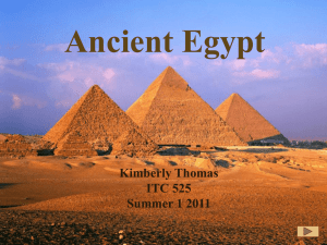 Ancient Egypt - Kim`s-Uses-of