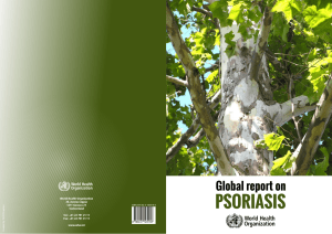 Global Report on Psoriasis - World Health Organization