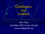 Implications of Globalization - Making multicultural Australia
