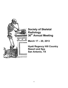SSR 2006 Annual Meeting At-a-Glance