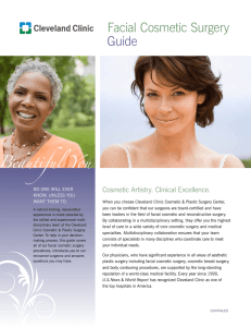 Facial Cosmetic Surgery Guide