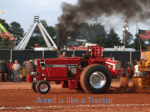 A cell is like a Tractor