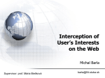 Interception of User`s Interests on the Web