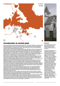 Churches of Auckland - Architecture Archive