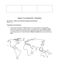 Chapter 2 Learning Guide – Population