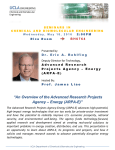 """An Overview of the Advanced Research Projects Agency – Energy"