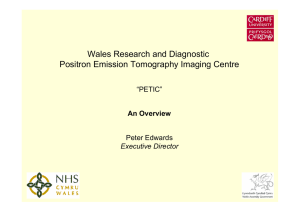 Wales Research and Diagnostic Positron Emission Tomography