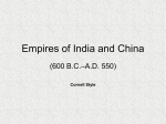 Empires of India and China - The Official Site - Varsity.com