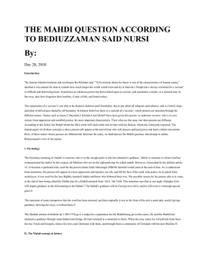 Save as Word - Bediüzzaman Said Nursî