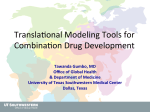 Translational Modeling Tools for Combination Drug Development