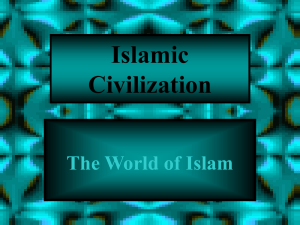 Muslim World File - Northwest ISD Moodle