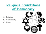 Religious Foundations of Democracy
