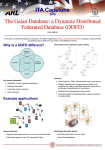 The Gaian Database: a Dynamic Distributed Federated Database
