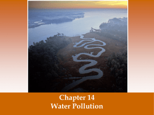 Water Pollution presentation