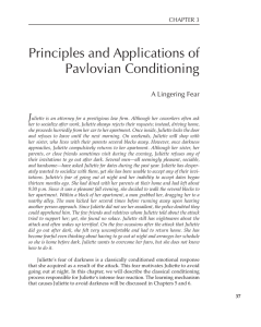 Principles and Applications of Pavlovian Conditioning
