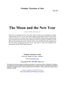 The Moon and the New Year (No. 213)