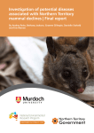 Investigation of potential diseases associated with Northern Territory