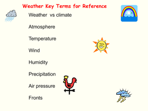 Weather Lab Powerpoint Charts