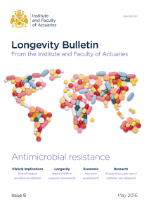 Longevity Bulletin: Antimicrobial resistance (AMR) (Issue 8)