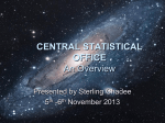 Central Statistical Office