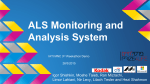 ALS Monitoring and Analysis System