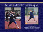 A Basic Javelin Technique