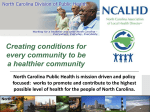 2015 Vision for the future of NC Public Health