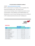 2015 ABS RATINGS OF MARKETING JOURNALS