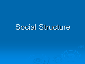 Social Structure - Anderson County Schools Home