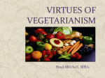 Virtues of Vegetarianism