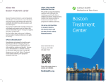 Boston Treatment Center - Lahey Health Behavioral Services
