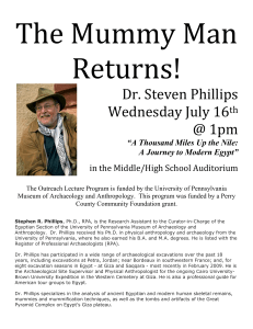 Dr. Steven Phillips Wednesday July 16th @ 1pm