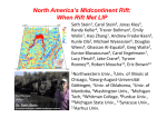 North America`s Midcontinent Rift: When Rift Met LIP