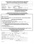 Special Needs Shelter PDF Application
