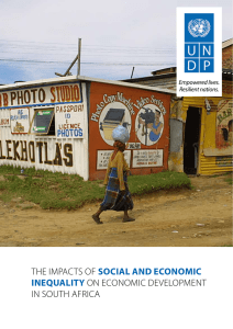The impacTs of social aND ecoNomic iNequality on economic
