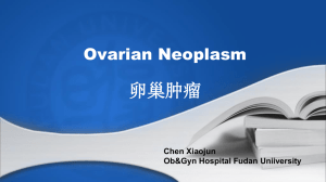 Epithelial ovarian neoplasm