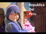 Powerpoint presentation about Peru