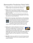 Mesoamerica Vocabulary Study Guide Olmec: civilization that