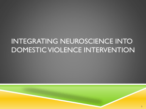 Integrating Neuroscience into Domestic Violence Intervention with