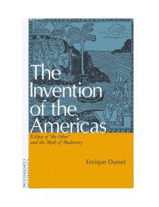 invention of America