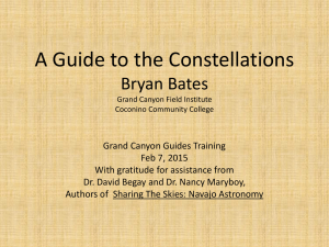 A Guide to the Constellations - The Grand Canyon Association