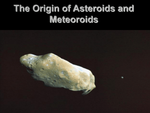 The Origin of Asteroids and Meteoroids