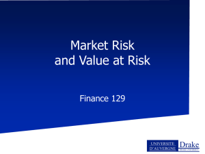 PowerPoint Version of Value at Risk Notes